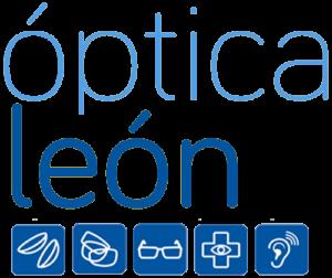 Logotipo Óptica León